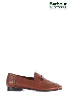 Barbour® Tan Sofia Loafers