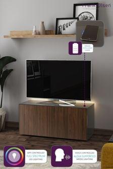 Frank Olsen Smart LED Corner Grey Walnut TV Cabinet