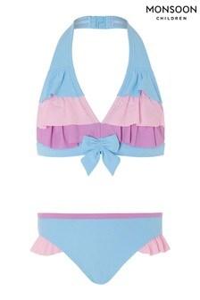 Monsoon Blue Bikini Set
