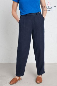 Seasalt Blue Trengwainton Trousers