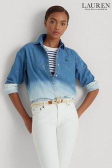 Lauren Ralph Lauren® Denim Ombre Shirt