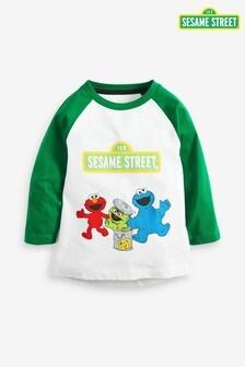 Sesame Street Jersey Long Sleeve T-Shirt (3mths-8yrs)