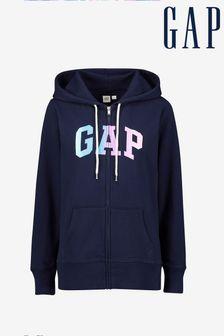 Gap Ombre Full Zip Hoody
