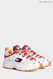 Tommy Hilfiger White Heritage Retro Chunky Trainers
