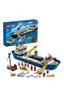 LEGO 60266 City Ocean Exploration Ship Floating Toy Boat