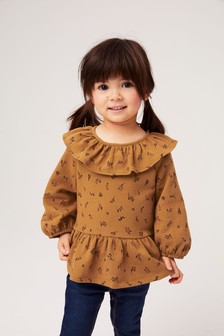 Frill Collar Top (3mths-7yrs)