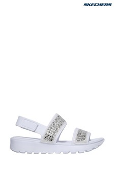 Skechers® White Footsteps Glam Party Sandals