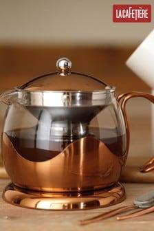 La Cafetiere Cafe Glass Infuser 4 Cup Teapot