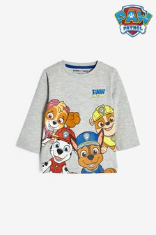 Paw Patrol Long Sleeve Jersey T-Shirt (3mths-8yrs)