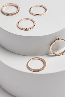 Sparkle Stacking Rings Pack