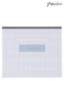 Paperchase Beautility Weekly Desk Pad with Storage