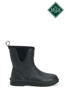 Muck Boots Black Originals Pull-On Mid Boots