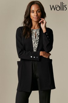 Wallis Black Stud Sleeve Jacket