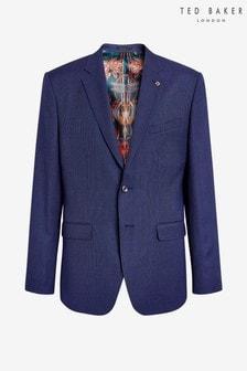 Ted Baker Regdebj Wool Birdseye Suit Jacket