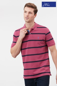 Joules Purple Filbert Striped Polo Shirt