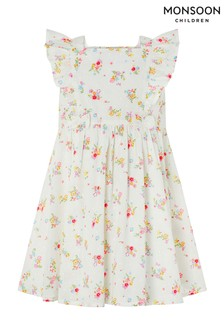 Monsoon Ivory S.E.W. Baby Kaia Dress