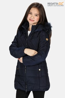 Regatta Blue Bernadine Insulated Coat