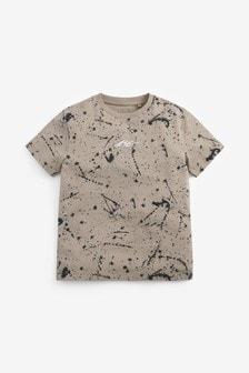 All Over Print Splat T-Shirt (3-16yrs)