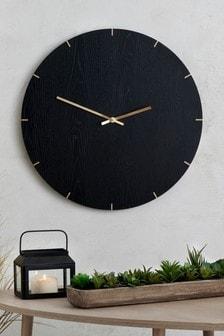 Wood Effect Wall Clock