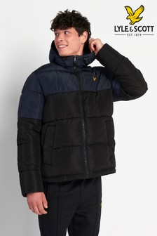 Lyle & Scott Colourblock Padded Jacket