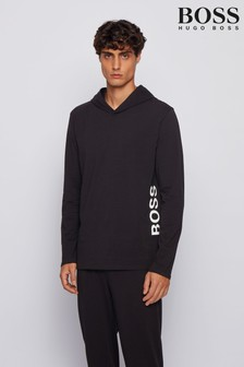 BOSS Identity Hooded Lounge Top