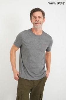 White Stuff Grey Abersoch Marl Pocket T-Shirt