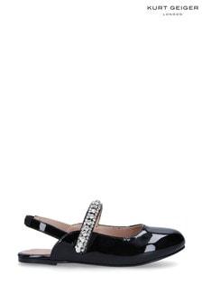 Kurt Geiger London Black Mini Princely Shoes