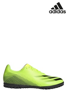 adidas Yellow X P4 Turf Football Boots