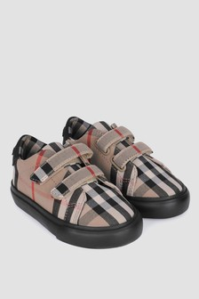 Baby Vintage Check Markham Trainers