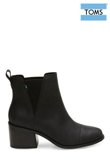 TOMS Black Esme Ankle Boots