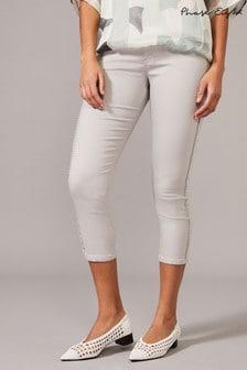 Phase Eight Grey Pixie Picot Edge Jeans