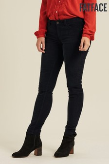 FatFace Blue Five Pocket Cord Jeggings