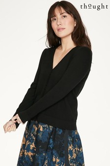 Thought Black Loren Cardigan