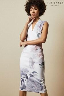 Ted Baker Marah Bouquet Bodycon Dress