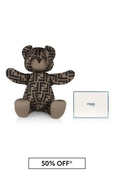 Brown FF Logo Teddy Bear