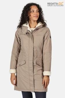 Regatta Brown Rimona Waterproof Jacket