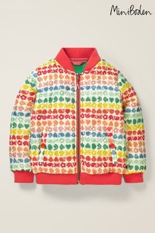 Boden Multi Quilted Bomber Jacket