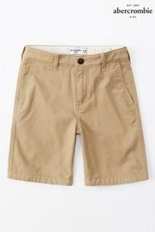 Abercrombie & Fitch Khaki Chino Shorts