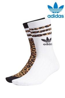 adidas Originals 2 Pack Crew Socks