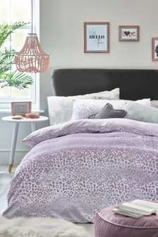Velvet Animal Duvet Cover and Pillowcase Set