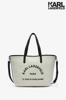 Karl Lagerfeld Logo Tote Bag