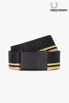 Fred Perry Tipped Webbing Belt
