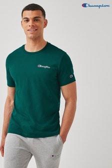 Champion Green Crew Neck T-Shirt