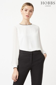 Hobbs Cream Karissa Blouse