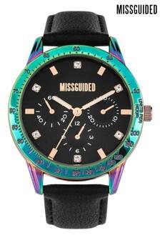 Missguided Iridescent Strap Watch