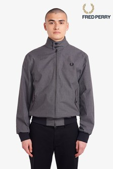 Fred Perry Jacquard Harrington Jacket