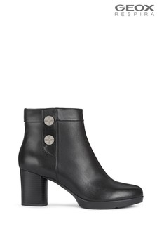 Geox Womens Anylla Black Boots