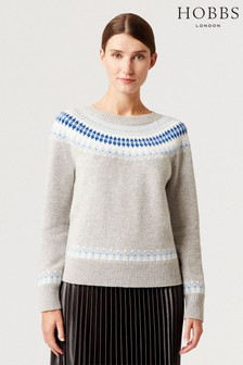 Hobbs Grey Layla Sweater