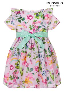 Monsoon Pink Baby Pixie Dress