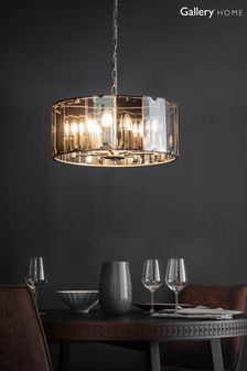 George 8 Pendant Light by Gallery Direct
